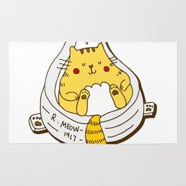 Duchamp's Cat Rug