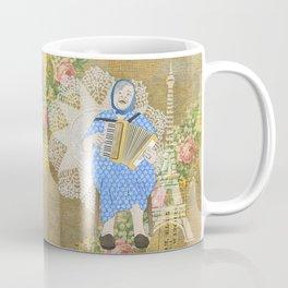 Woman Playing the Accordion Coffee Mug