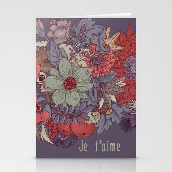 the wild side - dusty tones Stationery Cards