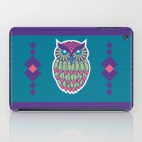 indie iPad Cases featuring Indie Owl by Dino DAdamo