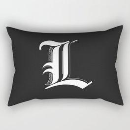 Letter L Rectangular Pillow