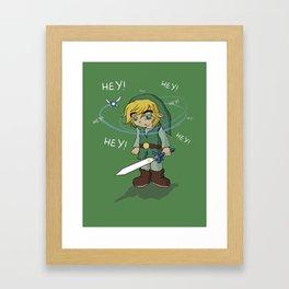 The Legend of HEY! Framed Art Print