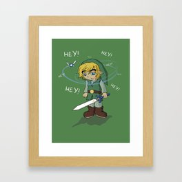 The Legend of HEY! Framed Art Print