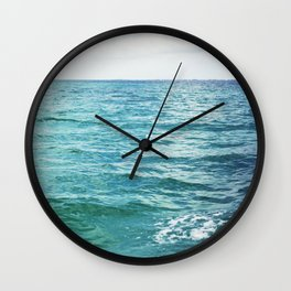 Colors of the Sea II Wall Clock