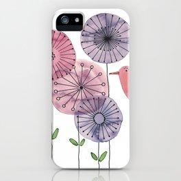 """Birdy """"Speak to me!"""" iPhone Case"""