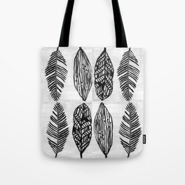 Feather Trio Tote Bag