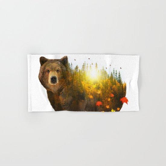 Equinox | Bear Hand & Bath Towel