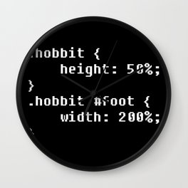 H0bbitCode Wall Clock
