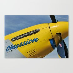 P51 Obsession Canvas Print