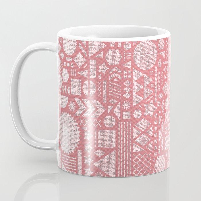 Modern Elements with Bubble Gum. Coffee Mug