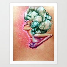 The Debutante Art Print