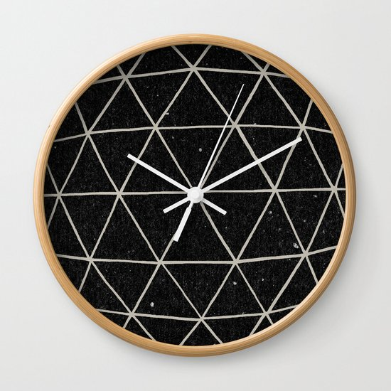 Geodesic Wall Clock