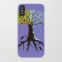 four seasons in 1 day iPhone Case