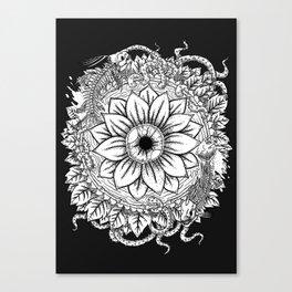 Malignant Bloom Canvas Print