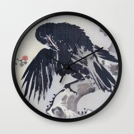 Crows Grooming - Digital Remastered Edition Wall Clock
