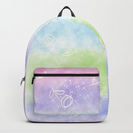 Fluttering in wind by Sarah Joo Backpack