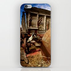 Old Mill Farm Equipment iPhone & iPod Skin