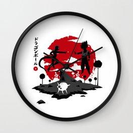 Legendary Battle Wall Clock