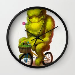 Bike Monster 1 Wall Clock