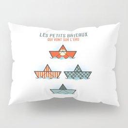 Les Petits Bateaux - Nautical Flags Edition Pillow Sham