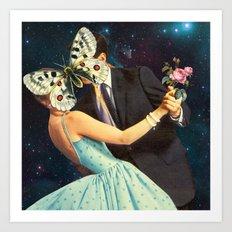 Butterflies, Part 2 Art Print