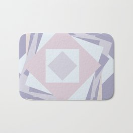 When stickies pile up like blooming rose... Bath Mat