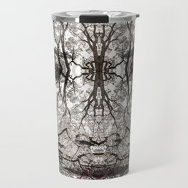 Forest Goddess in the Branches of and Ancient Oak Travel Mug