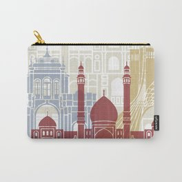 Tehran skyline poster Carry-All Pouch