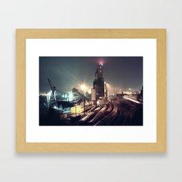 Infrastructure Framed Art Print