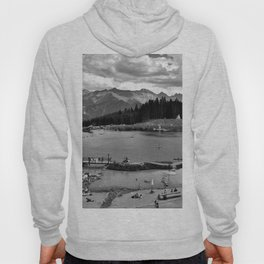 adventure park hög alps serfaus fiss ladis tyrol austria europe black white Hoody