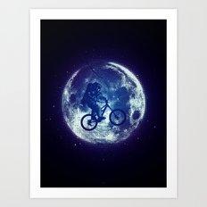 E.T.B. Art Print