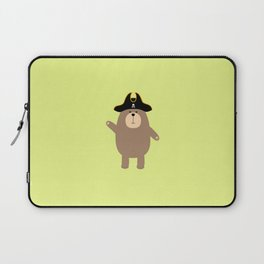 Grizzly Pirate Bear T-Shirt for all Ages D7cvs Laptop Sleeve