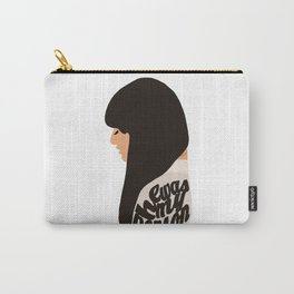 HE WAS MY PERSON (RACHEL BERRY - GLEE) Carry-All Pouch