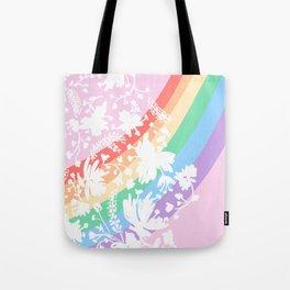 Rainbow Stripes 11 Tote Bag