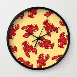 Baby Lobster Wall Clock