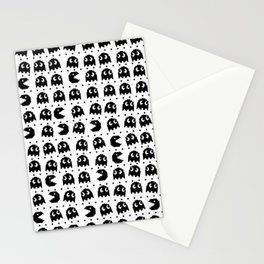 Pacman Black Stationery Cards