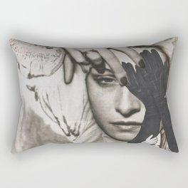 A Blind Eye Rectangular Pillow
