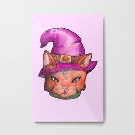 witchcat Metal Print