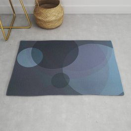 Dark Moon Geometry Rug