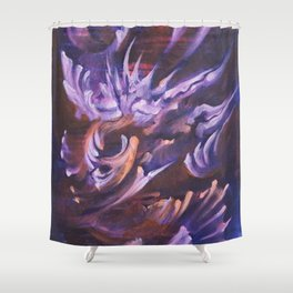 Heavy is the Form Shower Curtain