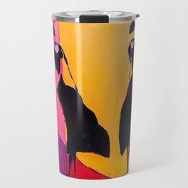 LADIES UNDER UMBRELLAS Travel Mug