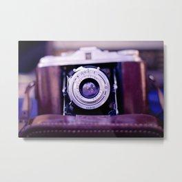 Vintage Film Camera II Metal Print