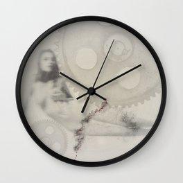 """deformation"" Wall Clock"