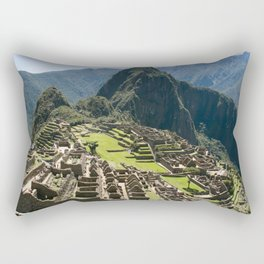 Machu hu Peru Rectangular Pillow