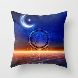 Mystic Moon #2 Throw Pillow