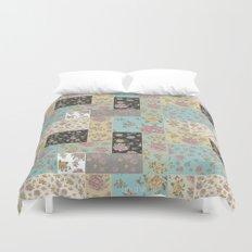 Mantón de Colores Duvet Cover
