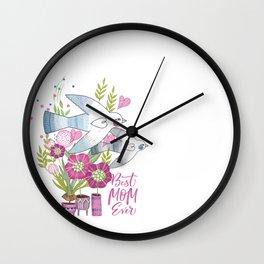 Best Mom Ever Wall Clock