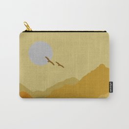 Shades of Desert Carry-All Pouch
