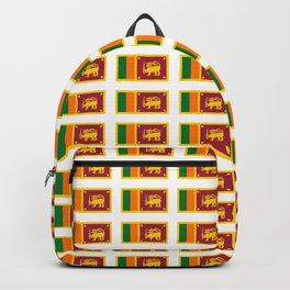 flag of sri lanka- ශ්රී ලංකා,இலங்கை, ceylon,Sri Lankan,Sinhalese,Sinhala,Colombo. Backpack