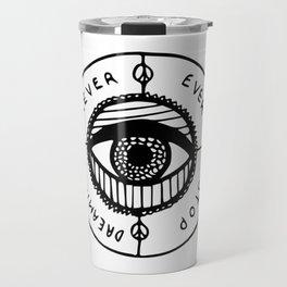 Never Ever Stop Travel Mug
